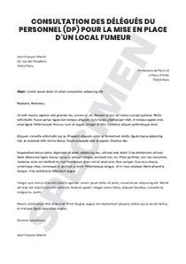 9d7deb4a4d7 Consultation des délégués du personnel (DP) pour la mise en place d ...