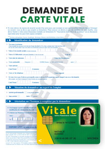 formulaire demande de carte vitale FORMULAIRE DEMANDE CARTE VITALE | Startdoc