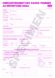 CERFA 10903-02 : Formulaire inscription au registre ADELI ...