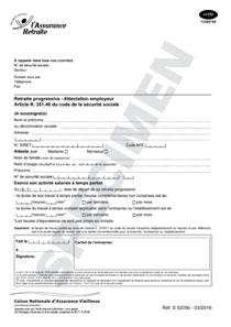 Cerfa 13362 02 Attestation D Employeur En Vue De La Retraite