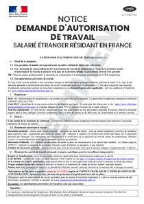 Cerfa 15186 Notice Explicative A La Demande D Autorisation De