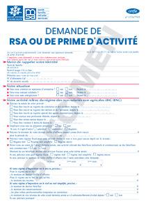 Cerfa 15482 Demande De Rsa Ou De Prime D Activite Startdoc